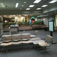 Photo taken at Capital Region International Airport (LAN) by Nate T. on 9/28/2011