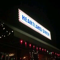 Photo taken at Heartland Diner by Nick C. on 1/3/2012