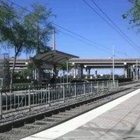 Photo taken at Bush Turnpike Station (DART Rail) by Korey F. on 3/23/2012