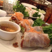Photo taken at Vietopia Vietnamese Cuisine by Marc D. on 4/26/2012