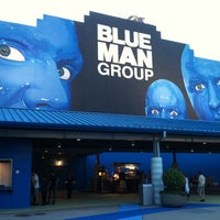 Photo taken at Blue Man Group at Universal CityWalk by 🏈 Stephanie H. on 8/4/2012