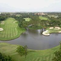 Photo taken at Thana City Golf & Sports Club by Anthony M. on 10/9/2011