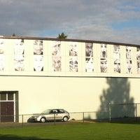 Photo taken at John Oliver Secondary by Audrey V. on 8/29/2012