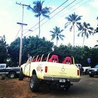 Photo taken at Ehukai Beach by Daniela A. on 1/28/2012