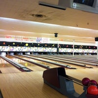 Photo taken at Hoe Bowl Bowling Center by Nicole S. on 9/4/2011