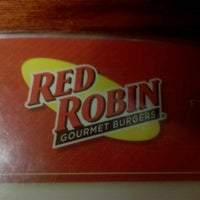 Photo taken at Red Robin Gourmet Burgers by Justin H. on 9/4/2012