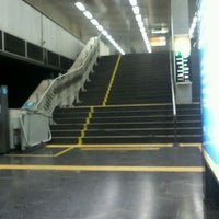 Photo taken at MetrôRio - Estação Central by Alessandro C. on 3/10/2012