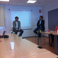 Photo taken at Vivero de Empresas de San Blas. Madrid Emprende by Pepe C. on 5/25/2012