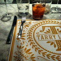 Photo taken at Tarry Lodge Enoteca & Pizzeria by Daniel S. on 5/8/2012