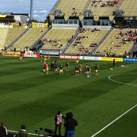 Photo taken at MAPFRE Stadium by Sarah P. on 10/2/2011