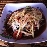 Photo taken at ร้ายส้มตำไทเลย by Jane P. on 1/22/2012