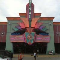 Photo taken at Regal Cinemas Augusta Exchange 20 & IMAX by David K. on 7/13/2012
