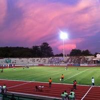 Photo taken at Surakul Sports Stadium by Ivan B. on 10/16/2011