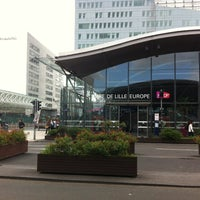Photo taken at Lille Europe Railway Station by Nestor C. on 6/9/2012