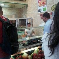 Photo taken at Subway by Zeeca M. on 4/4/2012