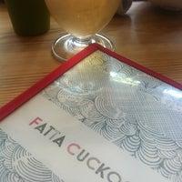 Photo taken at Fatta Cuckoo by Michelle on 7/1/2012