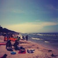 Photo taken at Lubiatowo - Morze by Marek O. on 7/10/2012