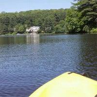 Photo taken at Pinewood Lake by Janet O. on 5/19/2012