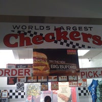 Photo taken at Checkers by Desiree W. on 3/14/2011