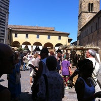 Photo taken at Piazza San Giovanni by Monia P. on 8/21/2011