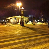 Photo taken at Laimas Pulkstenis   Laima clock by Simona on 1/25/2012