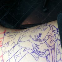 Photo taken at Ink Mafia Tattoo by Kylie R. on 8/10/2011
