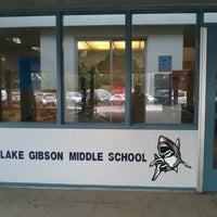 Photo taken at Lake Gibson Middle School by Nicole R. on 1/11/2012