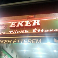 Photo taken at Eker Gyros Török Étterem by Daniel H. on 9/30/2011