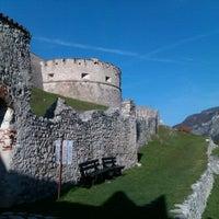 Photo taken at Castel Beseno by Emanuele D. on 11/19/2011