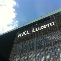 Photo taken at KKL Luzern by Massimo DjPrime P. on 8/26/2011