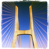 Photo taken at Ponte Vasco da Gama by Vasco S. on 10/10/2011