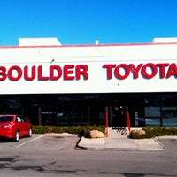 ... Photo Taken At Larry H. Miller Toyota Boulder By Rick C. On 12/ ...