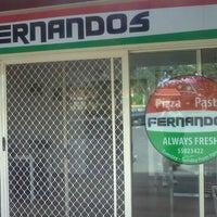 Photo taken at Fernandos Pizza-Pasta by JAMIE H. on 5/8/2011