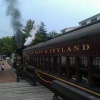 Photo taken at New Hope & Ivyland Railroad by Josh E. on 7/28/2012