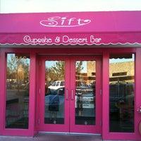 Photo taken at Sift Cupcake & Dessert Bar by Joe G. on 3/31/2011