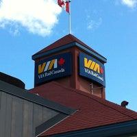 Photo taken at VIA Rail Kingston by Jason M. on 7/1/2011