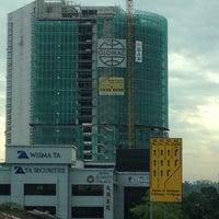 Photo taken at Damansara Utama Walk Bridge by May T. on 8/27/2012