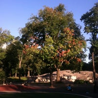 Photo taken at Heckscher Playground by Mandola Joe on 10/9/2011