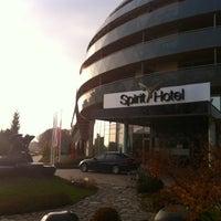 Photo taken at Hotel Spirit Thermal Spa by Gábor S. on 11/12/2011