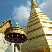 Photo taken at Wat Prathat Cho Hae by Kanzai Y. on 2/19/2012