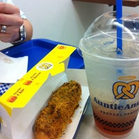 Photo taken at Auntie Anne's by Janey S. on 4/30/2012