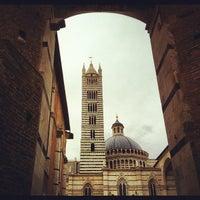 Photo taken at Duomo di Siena by Thomas C. on 4/29/2012