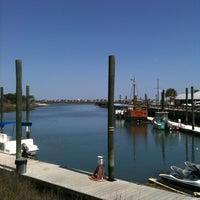 Photo taken at Murrell's Inlet Marshwalk by Dana T. on 4/9/2012