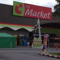 Photo taken at Big C Market by Sirisak T. on 7/4/2012