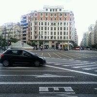 Photo taken at Plaça d'Espanya by Pepe D. on 9/3/2011