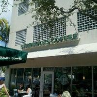 Photo taken at Starbucks by JamesBrownInMiami on 3/20/2011