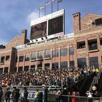 Photo taken at Folsom Field by Jamie G. on 4/17/2011