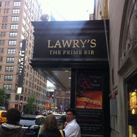 Photo taken at Lawry's The Prime Rib by Frazzy 626 on 5/7/2012