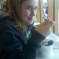 Photo taken at NuYo Frozen Yogurt by Mike B. on 4/14/2012