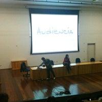 Photo taken at Anfiteatro do Direito by Mauricio G. on 9/3/2012